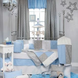 starlight bedding by glenna jean star baby crib bedding