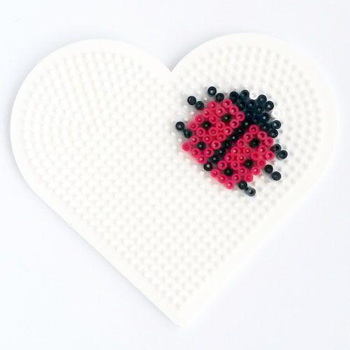 Ladybug hama mini beads
