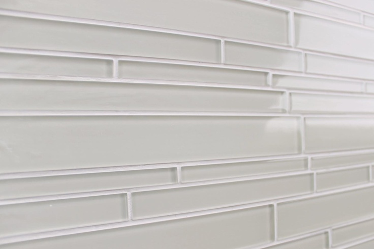 Light Beige Off White Glass Subway Tile Kitchen Backsplash Wall Sink