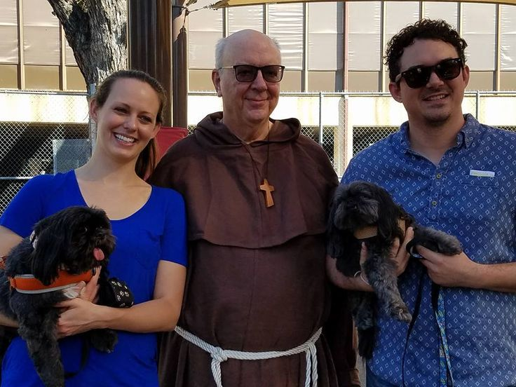 Paulist Fr. Chuck Kullman - Blessing of the Animals at St. Austin Parish in October 2017.