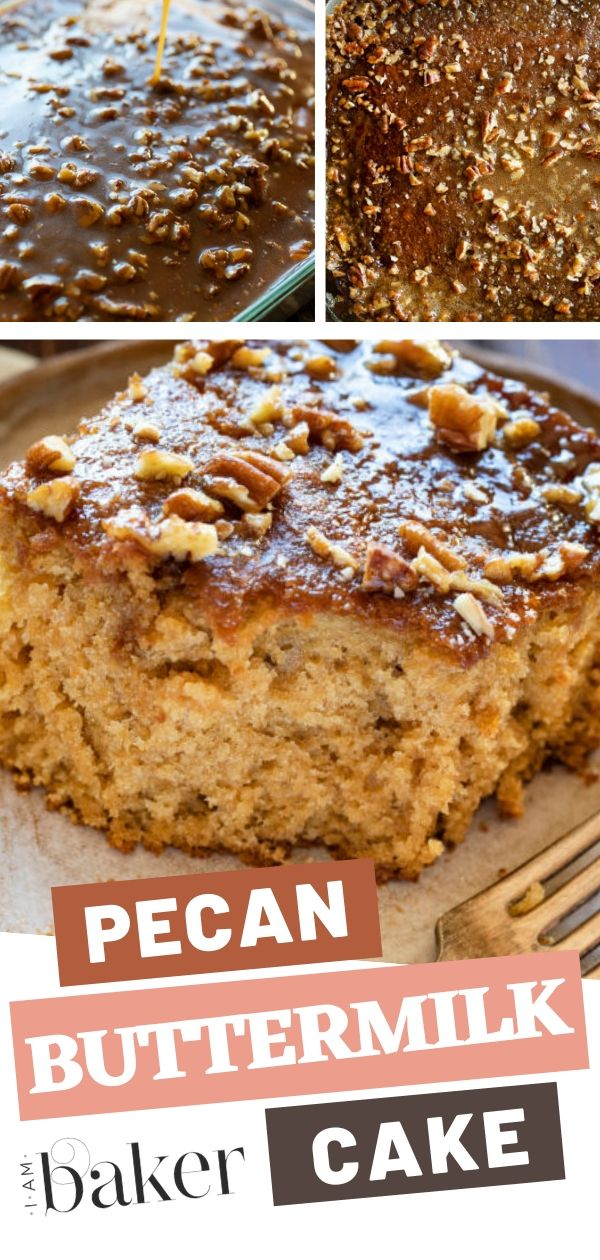 This Healthy Buttermilk Recipe Is Making A Comeback Pecan Buttermilk Cake Is The Best Buttermilk Cake Pecan Recipes Buttermilk Cake Recipe Buttermilk Recipes
