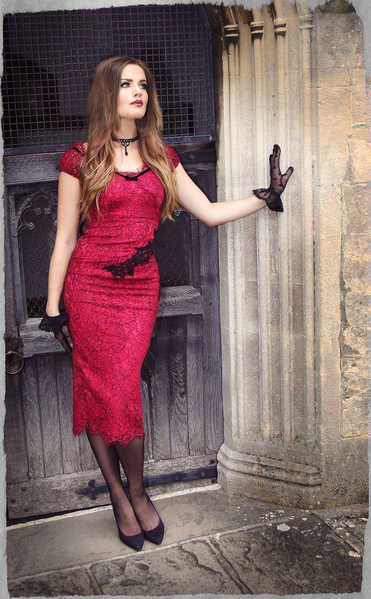 Dolce Vita Lace Wiggle Dress
