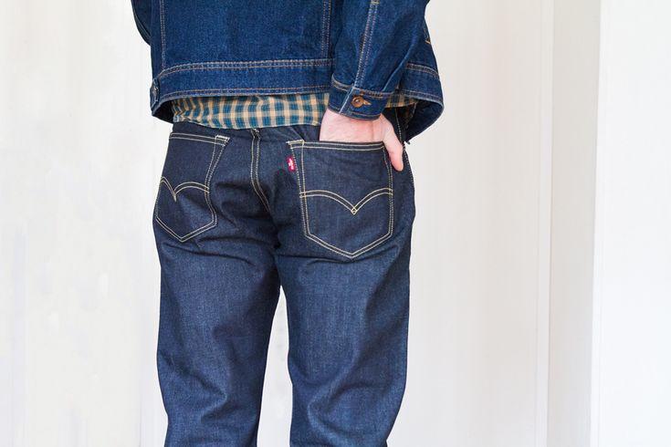 Jeans Levi's 501 Selvedge #jeans #levis #look #mens #mode