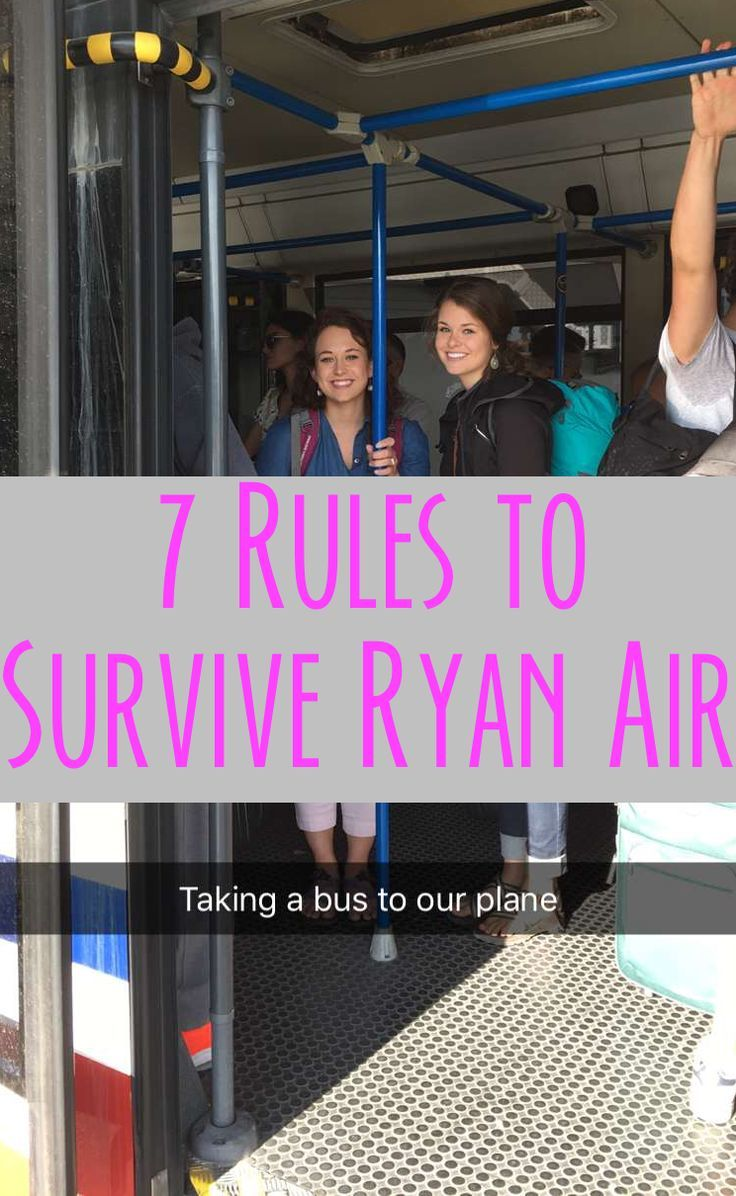 Budget airlines can be incredibly helpful when it comes to saving money, if navigated correctly. Here are some rules to help you survive Ryan Air.