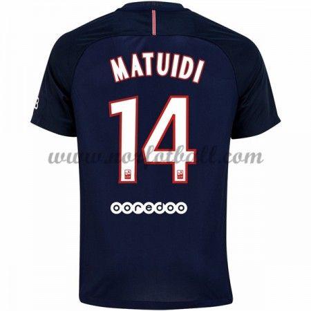 Billige Fotballdrakter Paris Saint Germain Psg 2016-17 Matuidi 14 Hjemme Draktsett Kortermet