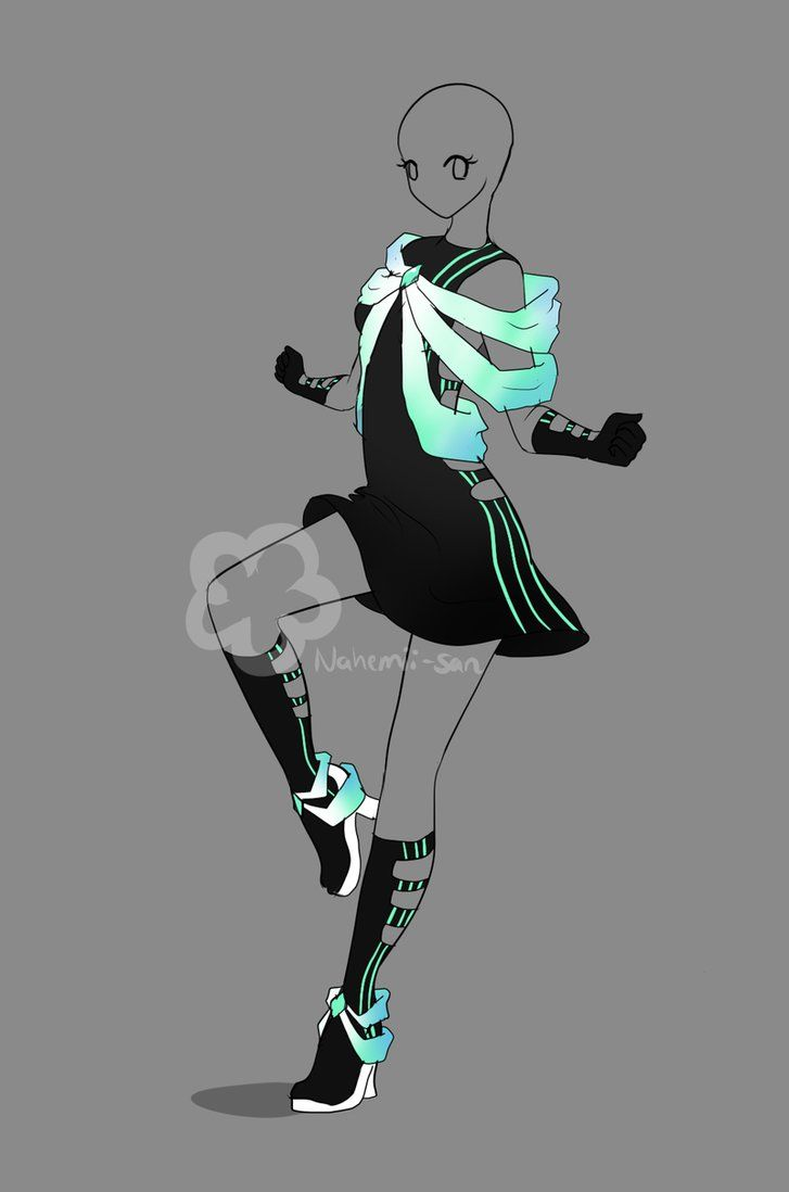 Futuristic Dress Auction - closed by Nahemii-san on DeviantArt