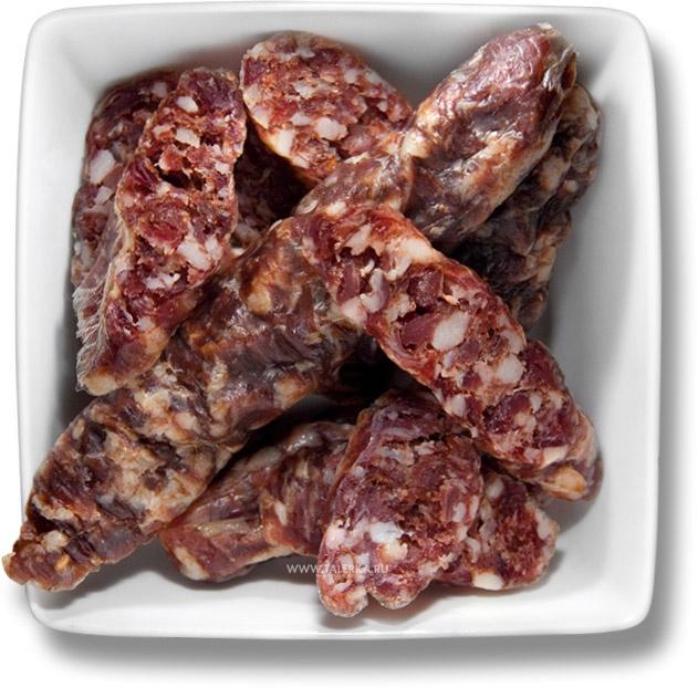 Сыровяленая колбаса (пальцам пханая кішка, kiełbasa litewska suszona, сиров'ялена ковбаса) – Беларусь – рецепт