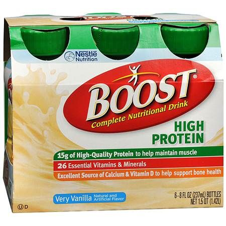 Boost High Protein Complete Nutritional Drink Very Vanilla - 8 oz.