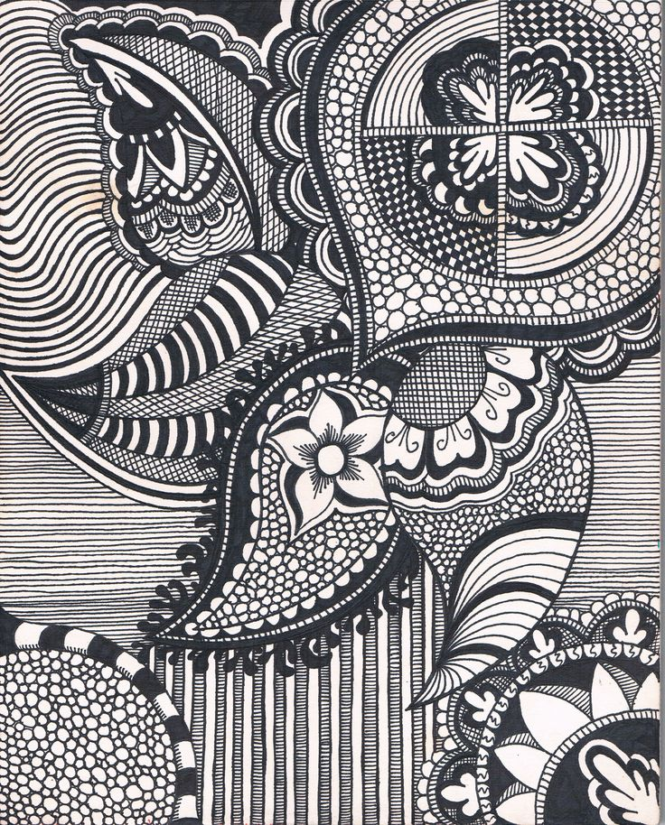 A trippy doodle | Expressions in 2019 | Hippie drawing ... Simple Doodle Art Designs