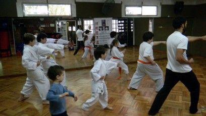 Clases de Karate-Do para padres e hijos