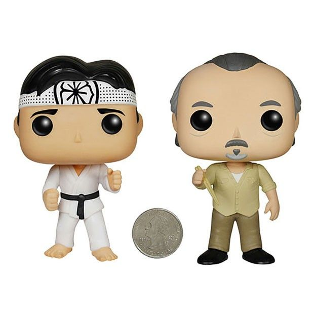 Karate Kid Funko POP! Action Figures: Pop on, Pop off