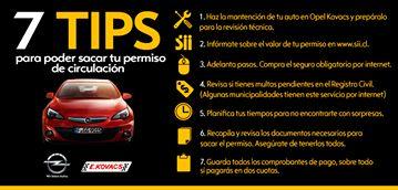 Tips para sacar el permiso de circulación