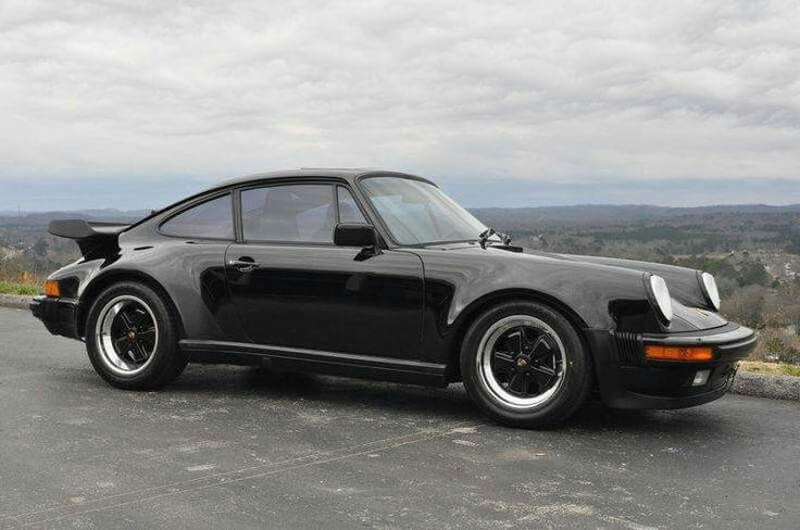Black Porsche 911 Turbo Baby!