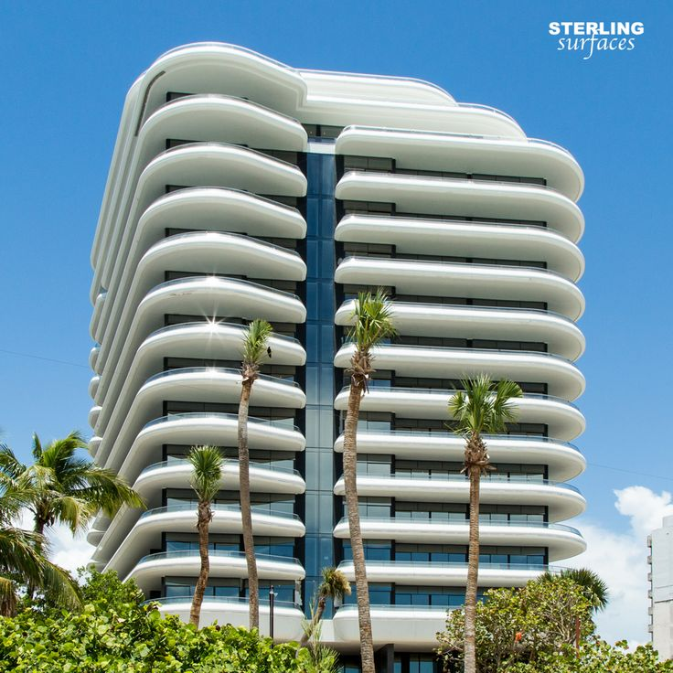 Thermoformed Corian Handrails For The Luxury Faena House Condominium Tower  On Miami Beach, FL. Fabrication By Sterling Surfaces. Part 63