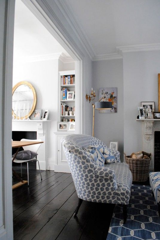 blue rug and pattern for pillows maybe