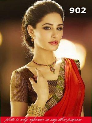 Nargis Fakhri Bollywood Sarees Online on Shimply.com