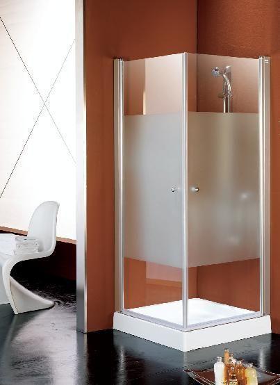 Comprar MODELO AQ 1+1, mampara puertas abatibles mamparas baño y ducha en mamparas-ofertas.com