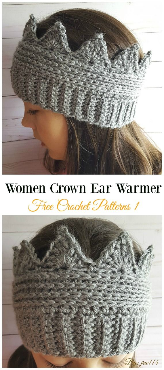 Trending Women Ear Warmer Free Crochet Patterns Crochet