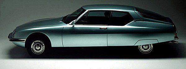 Citroen SM (1970) with Maserati engine