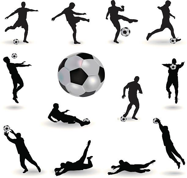 Royalty Free Soccer Goalie Save Clip Art Vector Images Soccer Goalie Soccer Soccer Silhouette