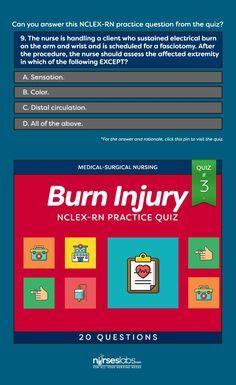 Burn Injury Nursing Management