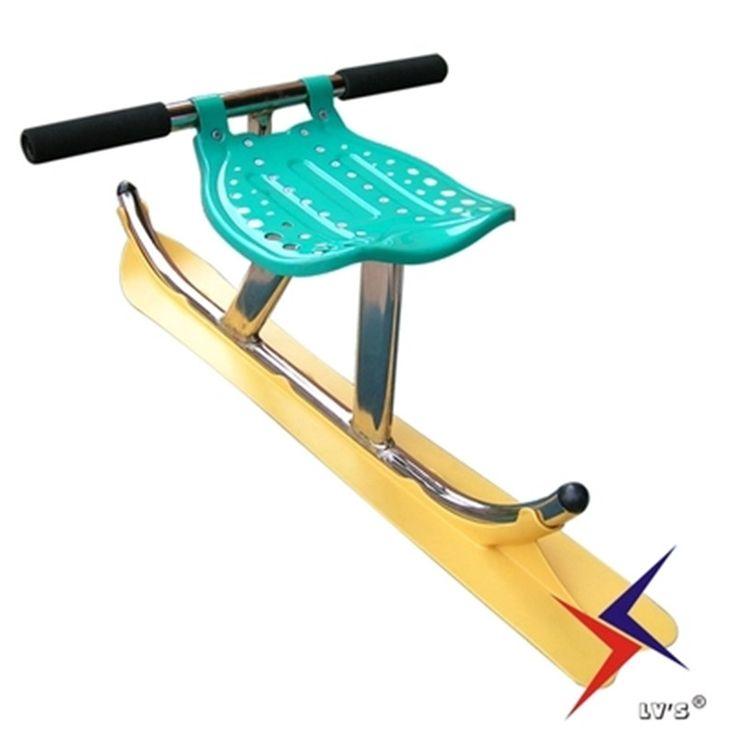 Легко носить снег скутер для детей взрослых Трава лыжи снег сани XQ13