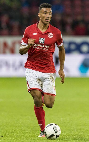 Karim Onisiwo of Mainz 05 during the Bundesliga match between 1. FSV Mainz 05 and SC Freiburg at Opel Arena on November 19, 2016 in Mainz, Germany.