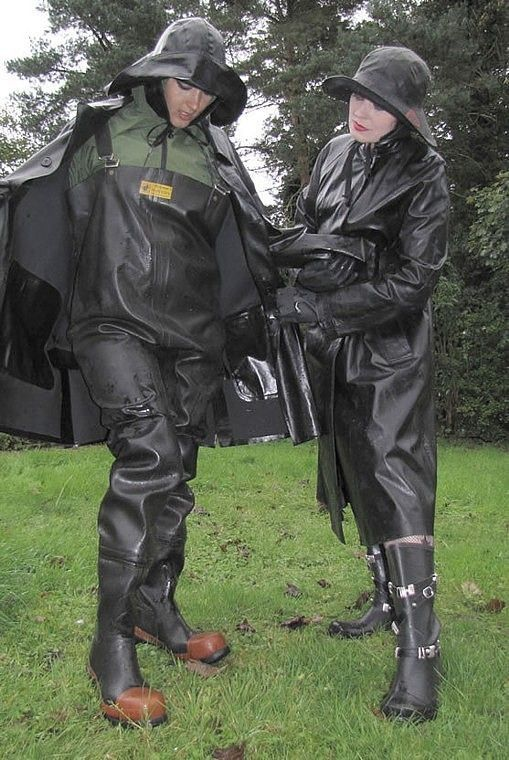 You understand once this Mac is on and sealed up that's it so like me you will be peeing and pooping in your waders like I have in the last six months and why I smell lovely and turns you on