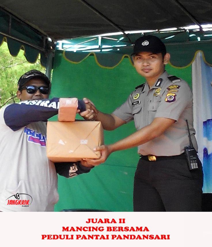 Juara 2 Mancing Bersama, Peduli Pantai Pandansar