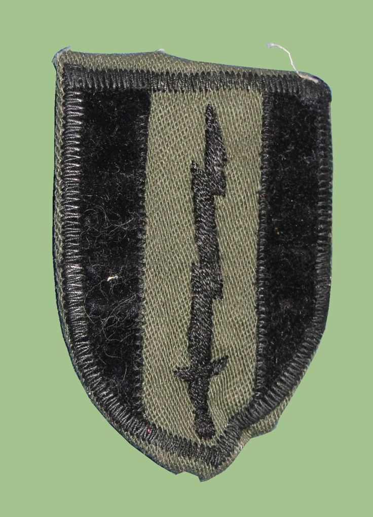 US Army First Brigade Patch - Theater Made