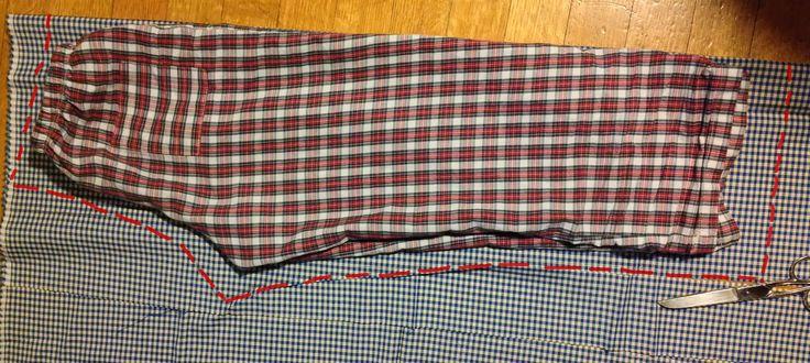 Come fare: i pantaloni del pigiama.