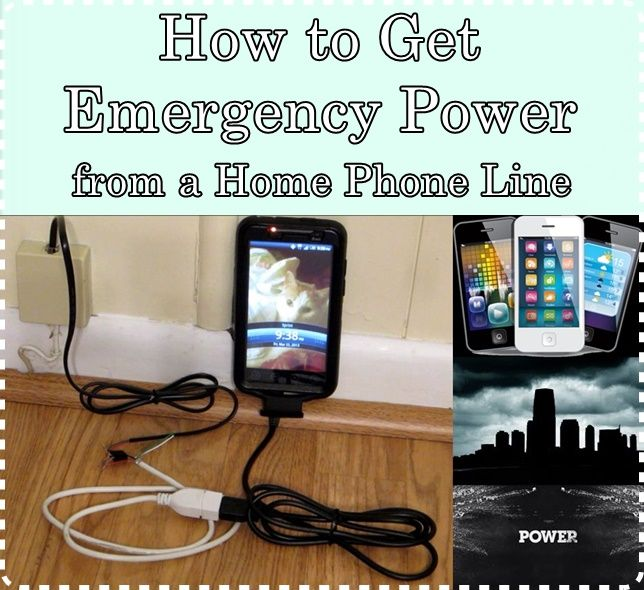 How to Get Emergency Power from a Phone Line Homesteading  - The Homestead Survival .Com