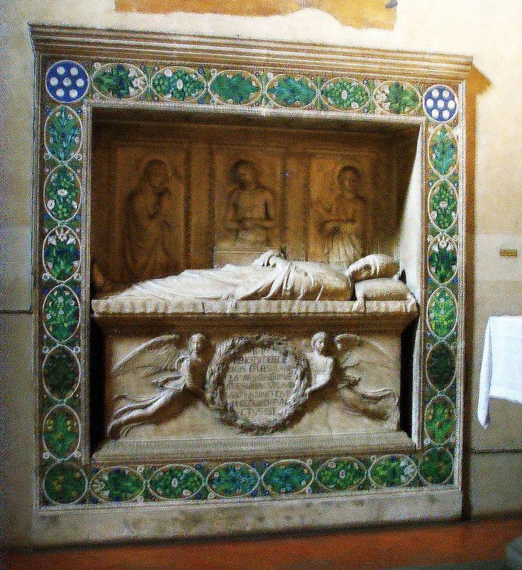 Склеп Беноццо Федериче (1454-1457), мастерская Делла Роббиа