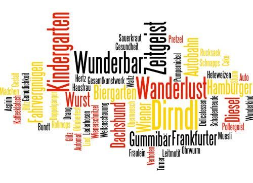 essay words german