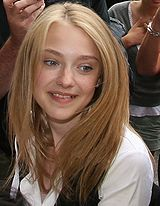Dakota Fanning -  She is an American actress who rose to prominence after her performance in the 2001 film I Am Sam. As a child actress, she appeared in films such as Man on Fire, War of the Worlds, and Charlotte's Web. In 2006, Fanning began the transition to more adult roles with Hounddog and The Secret Life of Bees. In 2002, she became the youngest nominee for a Screen Actors Guild Award.