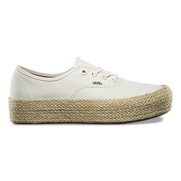 Authentic Platform Espadrille | www.vans.com | {Style} in 2019 ...