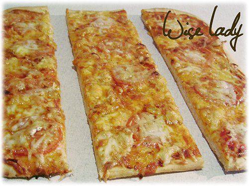 Pizzatészta és pizzaszósz