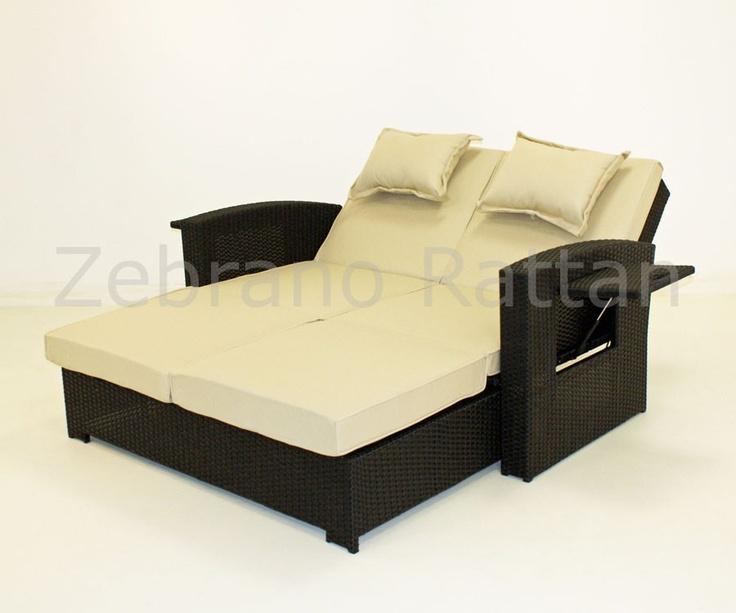 Rattan Daybed Suppliers : Rattan sofa bed sleeper siesta key thesofa