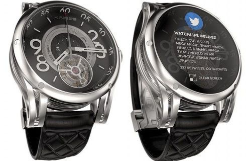 Kairos montres connectees available in December 2014 #smartwatch #connected #design #watch