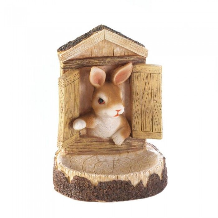 Home Locomotion Curious Bunny Garden Decor World Of Products 10016128