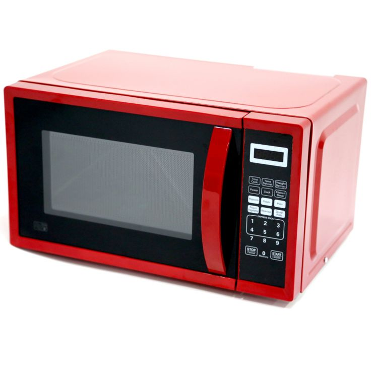 asda em717cxn pmr 700w 17l digital microwave red home. Black Bedroom Furniture Sets. Home Design Ideas