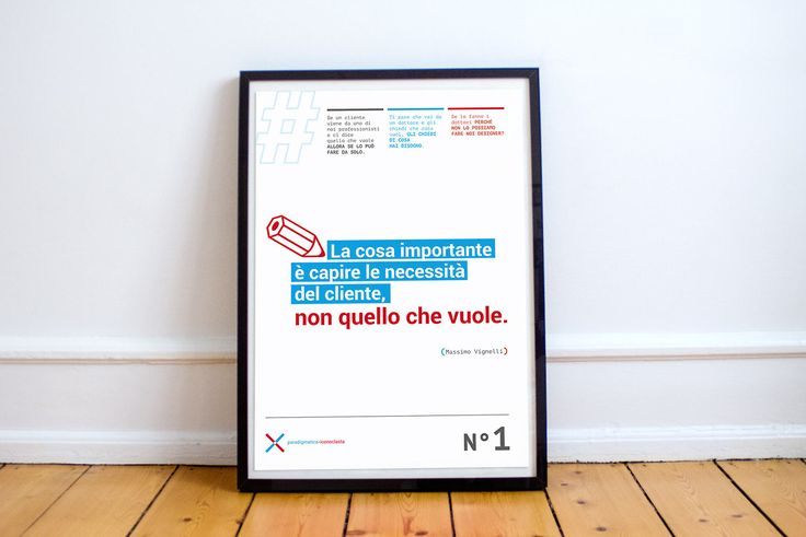 Personal work by laurynboc - Quote of the day Massimo Vignelli #type #poster #graphicdesign #quote