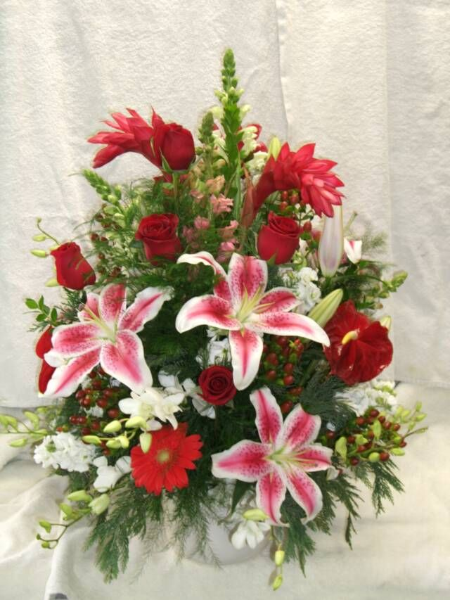 How to make artificial flowers look real home safe how to make silk flowers look real google search 21 best christmas silk fl arrangements baskets images on mightylinksfo