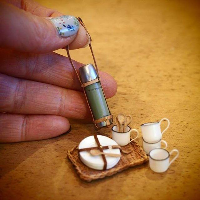 Miniature thermos By N'original