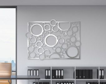Laser Cut Metal Decorative Wall Art Panel Sculpture by DMPanels