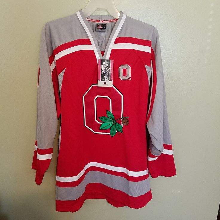 OHIO STATE BUCKEYES COLOSSEUM NWT HOCKEY JERSEY JERSEY SIZE XL ADULT