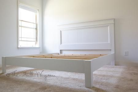 Ana White | King Size Fancy Farmhouse Bed - DIY Projects