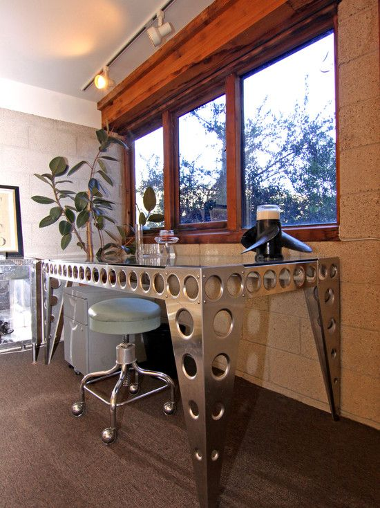 Laguna Beach House in the Hills - eclectic - home office - orange county - Shelley Gardea