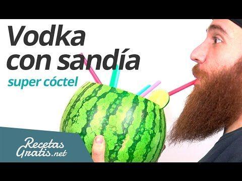 Vodka con sandía #RecetasGratis #RecetasdeCocina #RecetasFáciles #VideoRecetas #VídeosdeCocina #Cócteles #Cocktails #VodkaCocktails #FrutaconAlcohol