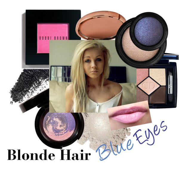 """Blonde Hair, Blue Eyes"" by camillelavie on Polyvore"